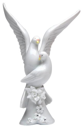 Appletree Design The Perfect Wedding Rose Dove Figurine, 5-1/4-Inch Tall