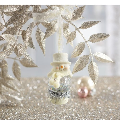 Dream Snowbabies 25th Anniversary Celebration from Department 56 Drm Glass Ball Ornament, Medium