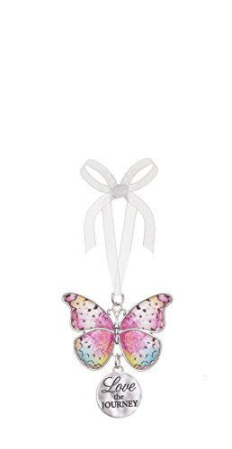 Ganz Home Decor Christmas / Spring Blissful Journey Butterfly Ornament (Love the Journey EA13545)