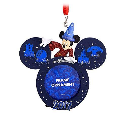 Disney Sorcerer Mickey Mouse Frame Ornament – Walt Disney World 2017