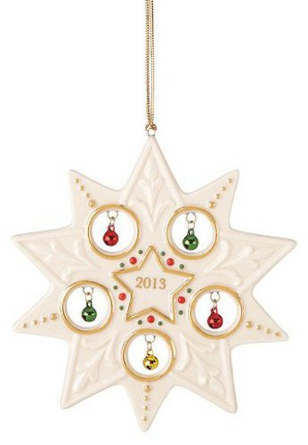 Lenox 2013 Jolly Jingle Star Ornament