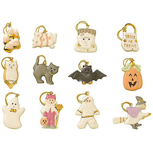 Trick or Treat 12-pc Ornament Set