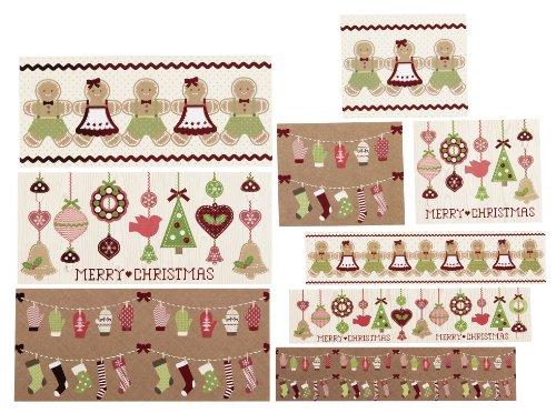Martha Stewart Crafts Cottage Christmas Beverage Label