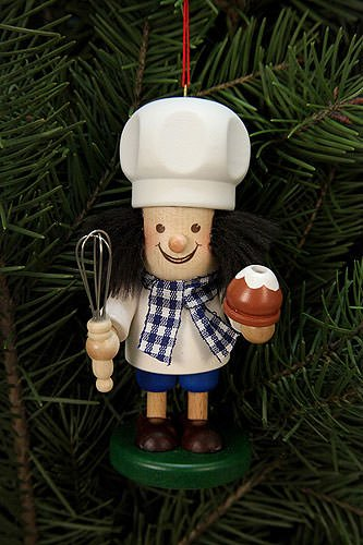 Tree ornaments Tree ornament Baker – 10,8cm / 4 inch – Christian Ulbricht