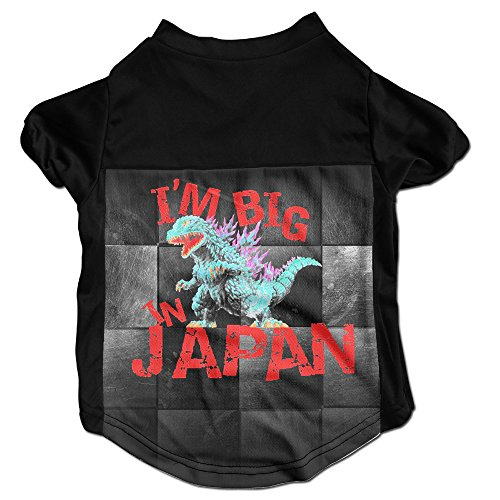 Godzilla Big In Japan Best Dog Clothes Sweaters Shirt Hoodie For Pet
