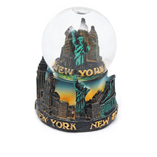 New York City Mini NY NYC Snow Globe Souvenir 2.5″ Collection by Favorict (Style B)