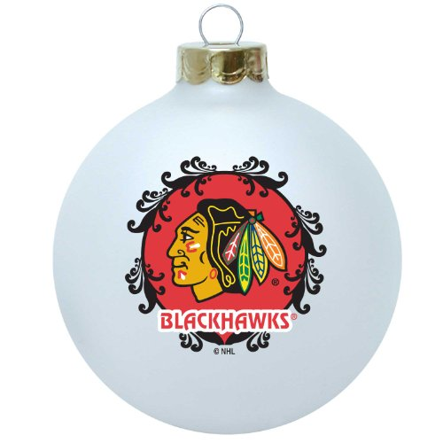 NHL Chicago Blackhawks Large Collectible Ornament