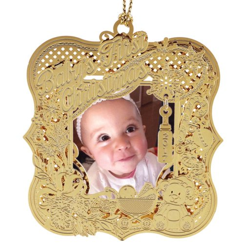 ChemArt/Beacon Design 2017 Baby's 1st Christmas Ornament