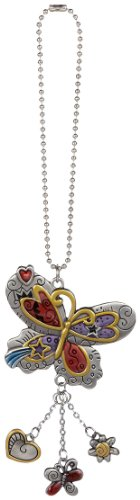 Ganz Car Charm Colored Butterfly