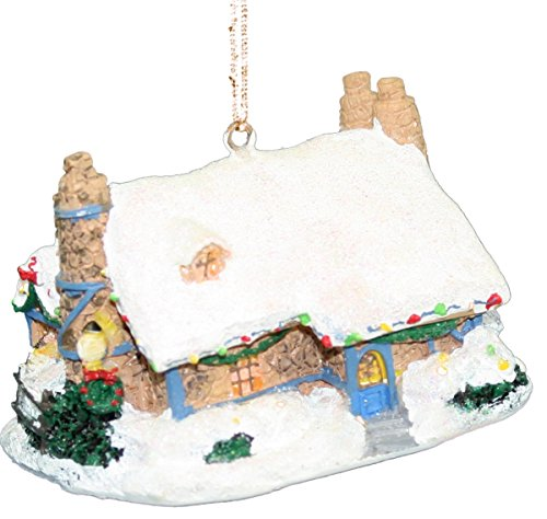 Kurt Adler 'Thomas Kinkade' Winter House Ornaments