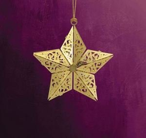 "ChemArt 2.5″ Collectible Keepsakes ""2013"" Star Christmas Ornament"