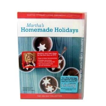 Martha Stewart's Homemade Holidays On DVD