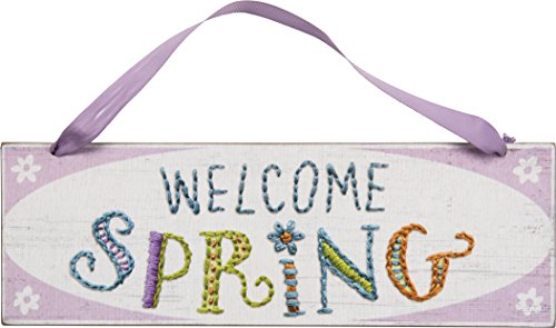 PBK Spring Easter Decor Sign – Welcome Spring #27152