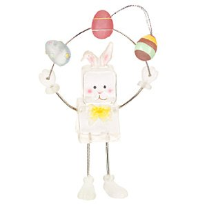 Ice Fellas Easter Egg Juggling Bunny Ornament