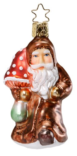 Luckiest Santa, #1-086-11, by Inge-Glas of Germany