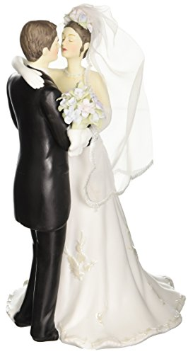 Appletree Design The Perfect Wedding Bride and Groom Figurine, 8-1/2-Inch Tall