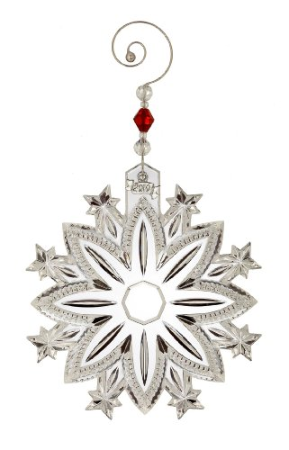 Waterford ® Crystal 2010 Annual Snow Crystal Pierced Ornament, Limited Edition
