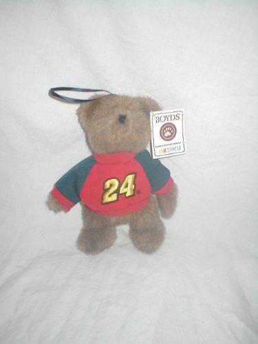 Boyds Bears Racing Family #24 Jeff Gordon Hanging Ornament