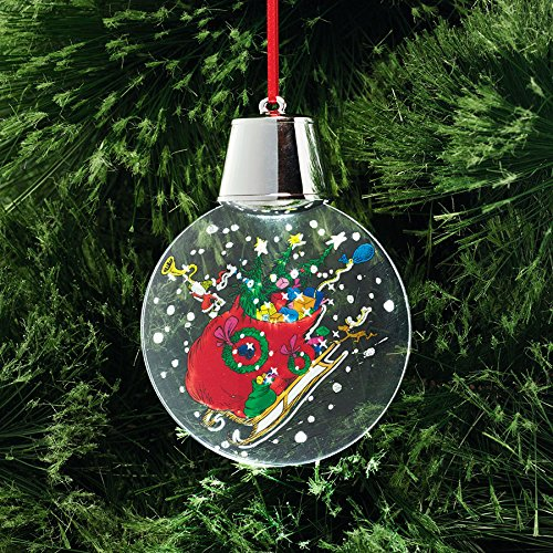 Department 56 Grinch Saving Xmas Holidazzler Ornament, 5″