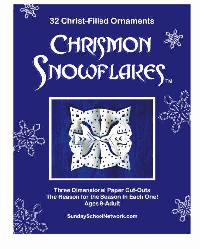 Chrismon Snowflake Ornaments: 32 Christ-Filled Ornaments