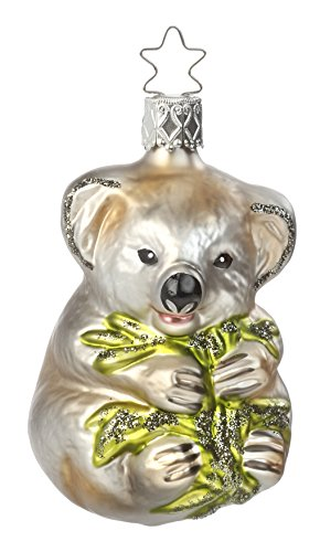 Kutest Koala, #1-017-15, from the 2015 Animals on Parade Collection by Inge-Glas Manufaktur; Gift Box Included