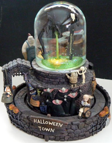 Nightmare Before Christmas ~ Musical Snow Globe