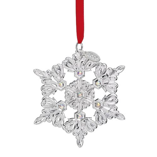 Lenox Snow Majesty Snowflake, Christmas Ornament
