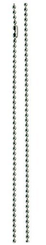 Santa Barbara Design Studio Charm Necklace Starter, Stainless Steel Ball Chain, 36-Inch