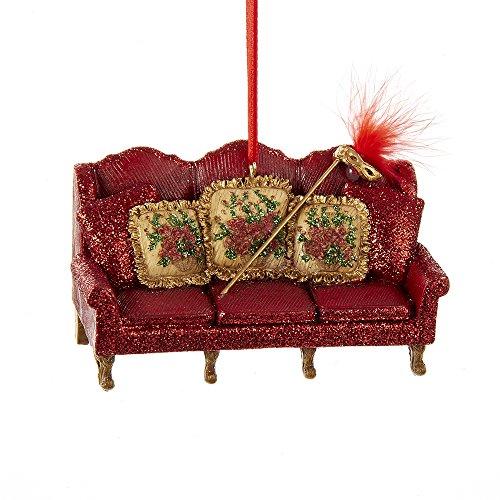 Kurt Adler 4.25″ Venetian Couch Ornament