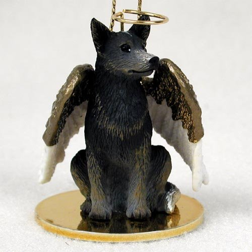 Australian Cattle Dog Angel Ornament – Red by Conversation Concepts
