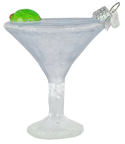 Old World Christmas Martini Glass Blown Ornament