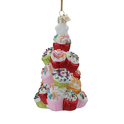 Kurt Adler 4.5″ Noble Gems Cupcake Tree Ornament