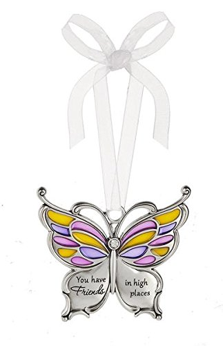 Ganz Butterfly Wishes Colored Ornament – You have Friends in high places