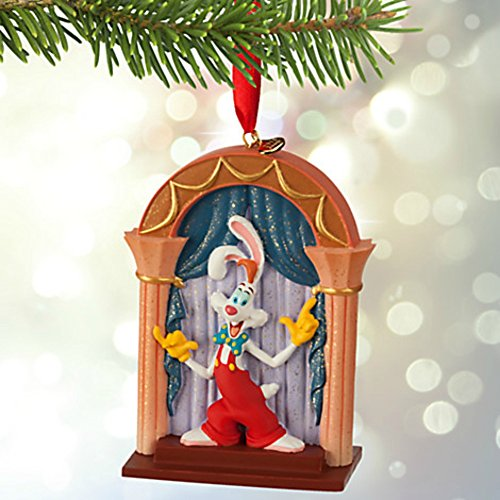 Disney Roger Rabbit and Jessica Sketchbook Christmas Ornament