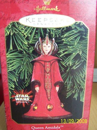 Queen Amidala Star Wars Episode 1 Hallmark 1999 Keepsake Ornament QXI4187