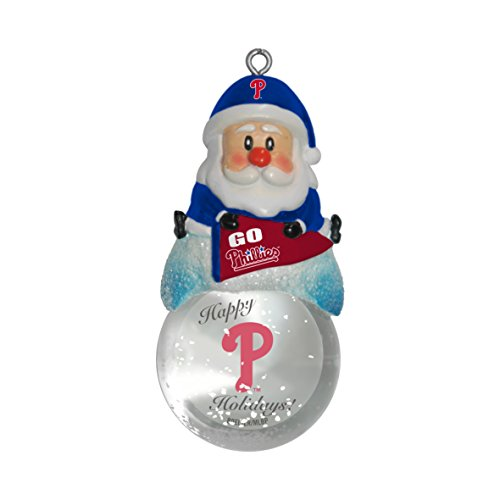 MLB Philadelphia Phillies Snow Globe Ornament
