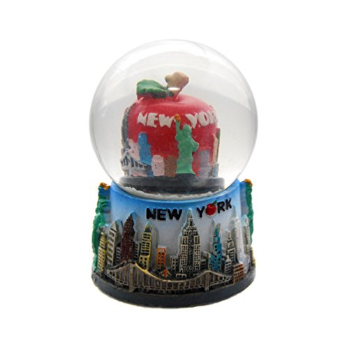 New York City Mini NY NYC Snow Globe Souvenir 2.5″ Collection by Favorict (Style E)