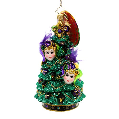 Christopher Radko Christmas Masquerade Destinations Christmas Tree Ornament