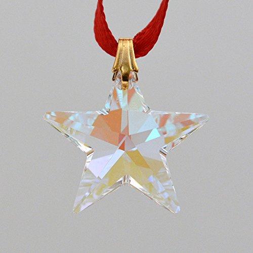 Swarovski 20mm Aurora Borealis Crystal Star Prism