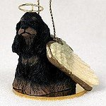 Cocker Spaniel Black & Tan Pet Angel Ornament by Conversation Concepts