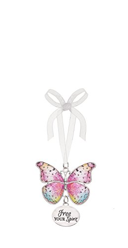 Ganz Home Decor Christmas / Spring Blissful Journey Butterfly Ornament (Free Your Spirit EA13539)