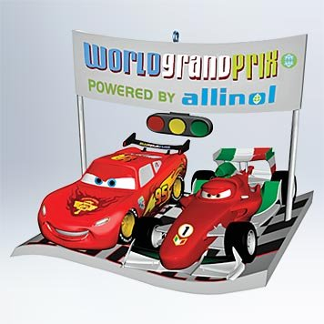 International Race Rivals 2011 Hallmark Ornament – QXD1629 Disney The Cars