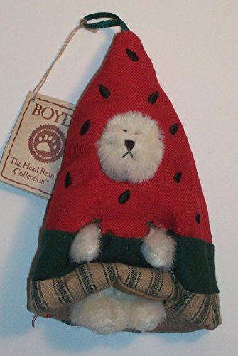 Augustbeary Peekers of the Month Ornaments Boyds Bear Plush