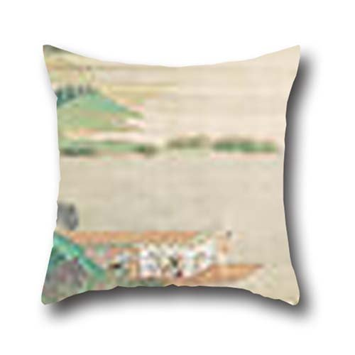 16 X 16 Inches / 40 By 40 Cm Oil Painting Qiu Ying – Saying Farewell At Xunyang Throw Cushion Covers ,each Side Ornament And Gift To Lounge,couch,floor,bar Seat,dance Room,couples