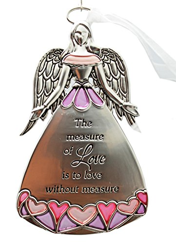The Measure of Love is to Love Without Measure Angel Ornament – By Ganz
