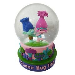 Dreamworks Trolls Poppy & Branch Musical Snow Globe