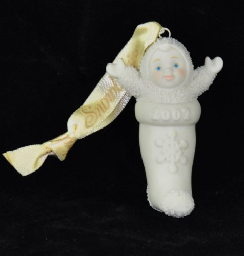 "Snowbabies "" BABY IN MY STOCKING "" Dept. 56 Ornament"