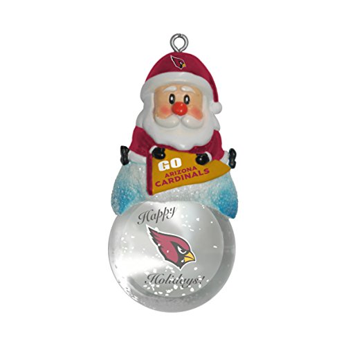 NFL Arizona Cardinals Snow Globe Ornament