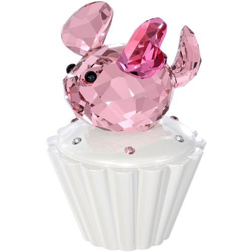 Swarovski Crystal #1194042 Cupcake Box with Mouse