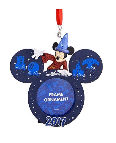 Walt Disney World Parks Icon Sorcerer Mickey Mouse 2017 Photo Frame Ornament